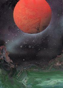 Roter Planet von Edmond Marinkovic