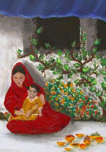 erste Reisfütterung von Ina Peters