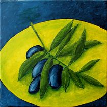 Küchen Quartett  4 von 4 - Oliven by Andrea Meyer