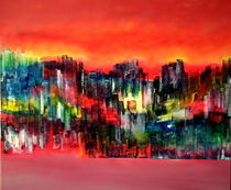 City of colours and lights von abstrakt