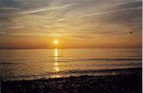 Abendstimmung, Wasser und Sonne by Beatrice Mock