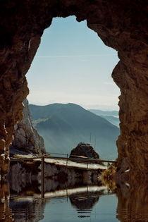 Aussicht auf den Wendelstein by Beatrice Mock