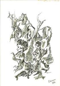 Menschenbäume by Oleg Kappes