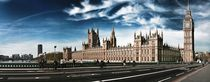 Houses Of Parliament  by Städtecollagen Lehmann