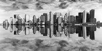 Skyline - New York von Städtecollagen Lehmann