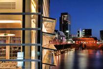 Medienhafen Düsseldorf von Städtecollagen Lehmann