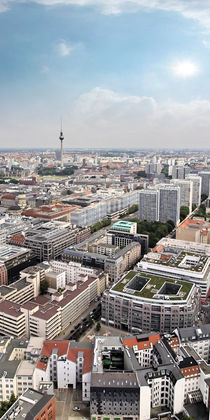 Skyline - Berlin  by Städtecollagen Lehmann