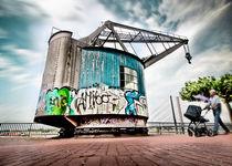 Rheinpromenade - Düsseldorf von Städtecollagen Lehmann