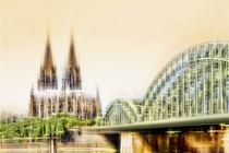 Skyline - Köln  von Städtecollagen Lehmann