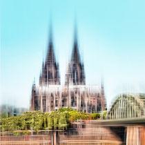 Skyline Köln von Städtecollagen Lehmann