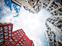 Gehry - Düsseldorf von Städtecollagen Lehmann