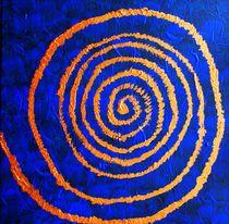 Kupferspirale von Ina Hartges