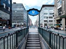 Berlin - Stadtmitte  von Städtecollagen Lehmann