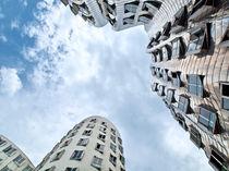 Gehry - Düsseldorf  by Städtecollagen Lehmann