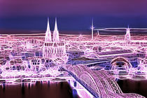 Typisch Köln  von Städtecollagen Lehmann