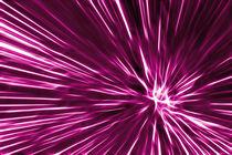 Pink Line by Städtecollagen Lehmann