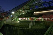 Schwebebahn - Wuppertal von Städtecollagen Lehmann