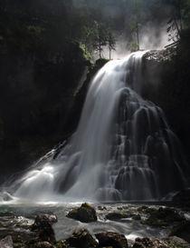 'Wasserfall in den Alpen' von Wolfgang Dufner