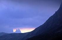 thunder in mountains von Wolfgang Dufner