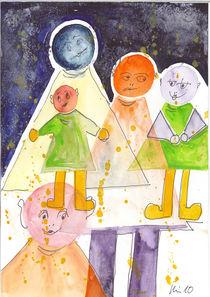 Mondbewohner by Bärbel Hinüber