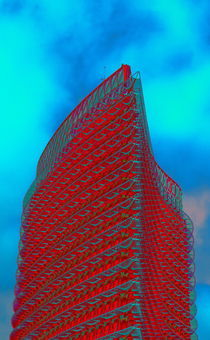 El Torre del Agua en rubio von aw-anja-bronner-art