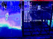Variation Universal in Blau by aw-anja-bronner-art