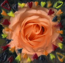 La rosa amor II von aw-anja-bronner-art