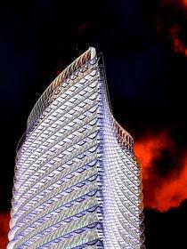 El Torre del Agua en la noche von aw-anja-bronner-art