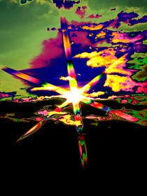 Sun Star Abstrakt von aw-anja-bronner-art