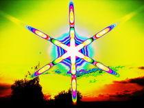 Retro Solstar von aw-anja-bronner-art