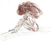 Akt Studie I by aw-anja-bronner-art