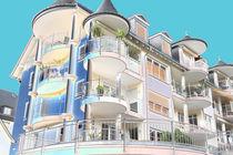Haus mit Balkonen by Bernd S.