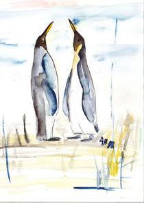 Pinguine by Annegret Hoffmann