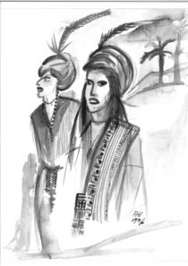 Afrikanische Männer by Annegret Hoffmann