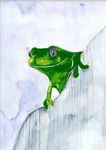 Frosch von Annegret Hoffmann