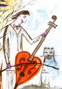 Katzenmusik by Annegret Hoffmann