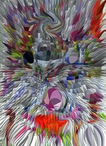 abstrakte maske by robert linke