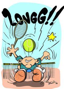 Tennisspieler von trumix