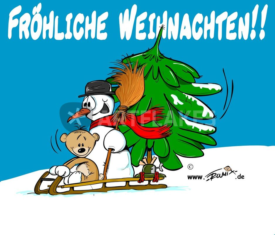 Comic Frohe Weihnachten.Frohe Weihnachten Comic Art Prints And Posters By Trumix