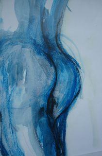 Popo in blau by Marion Gaber