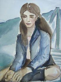Die Nachdenkliche by Marion Gaber
