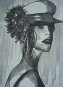 Sophia mit Hut by Marion Gaber