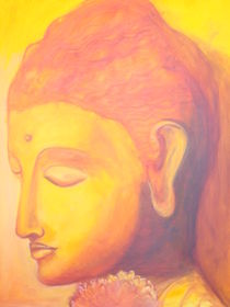 Buddha orange von Marion Gaber