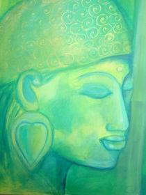 Buddha grün II von Marion Gaber