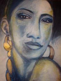 Frau mit Zopf by Marion Gaber
