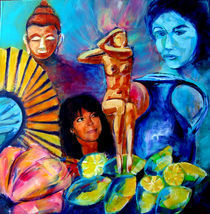 Women in paradise by Patrizia Aichberger
