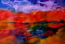 Landschaft im Abendrot von Patrizia Aichberger