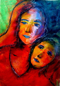 Die Frau mit den 2 Gesichtern  von Patrizia Aichberger
