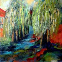 Trauerweiden im hellem Licht von Patrizia Aichberger