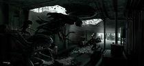 Aliens corridor by Fernando Rodriguez